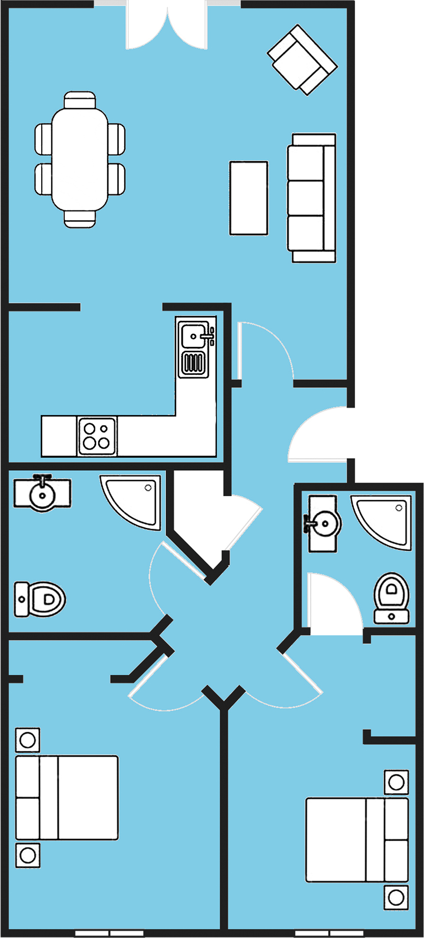 lutron ra2 select floor-plan